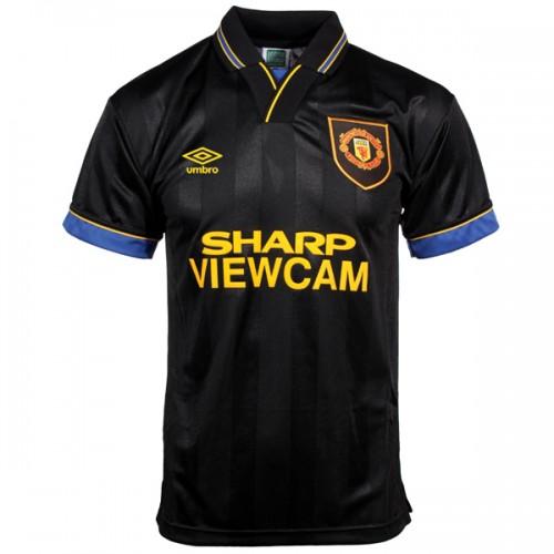 Retro Manchester United Away Football Shirt 93 94