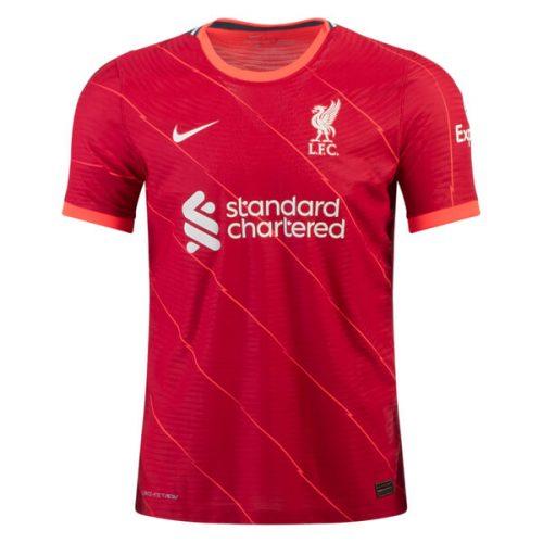 Liverpool Home Player Version Football Shirt 21 22