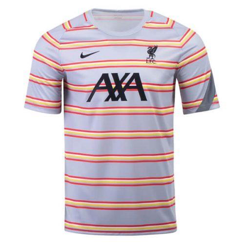 Liverpool UCL Pre Match Training Football Shirt 21 22