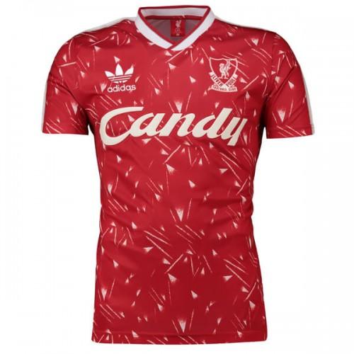 Retro Liverpool Home 89 91 Football Shirt