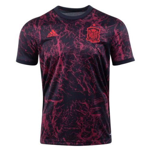 Spain Pre Match Training Soccer Jersey