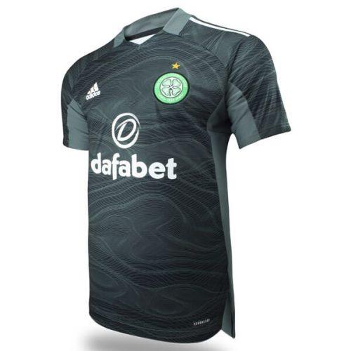 Celtic Away Goalkeeper Football Shirt 21 22