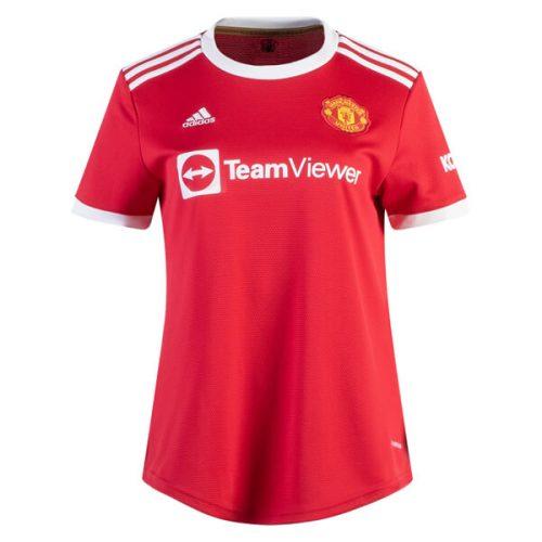 Manchester United Home Womens Football Shirt 21 22
