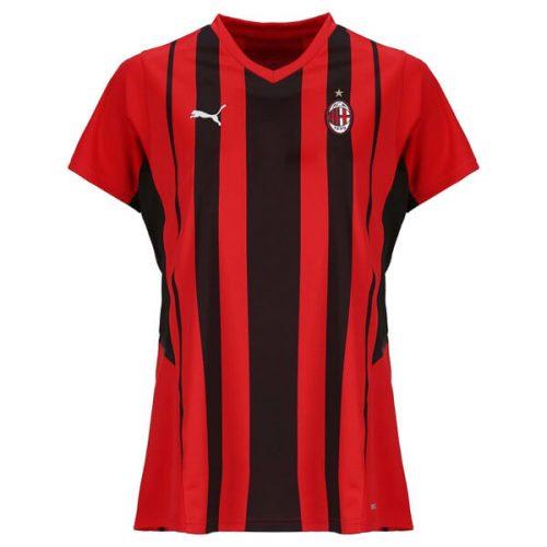 AC Milan Home Womens Football Shirt 21 22