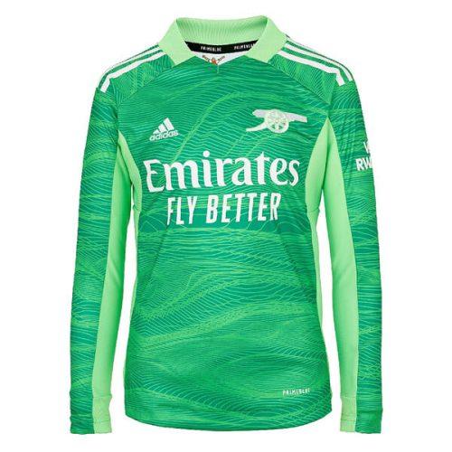 Arsenal Home Goalkeeper Long Sleeve Football Shirt 21 22