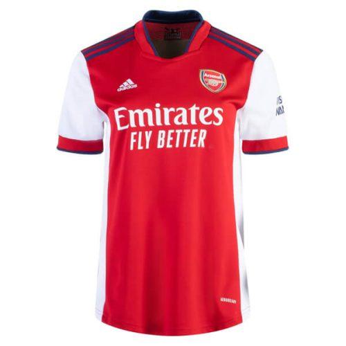 Arsenal Home Womens Football Shirt 21 22