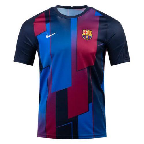 Barcelona Pre Match Training Football Shirt