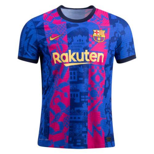 Barcelona Third Player Version Football Shirt 21 22
