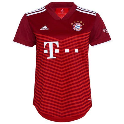 Bayern Munich Home Womens Football Shirt 21 22