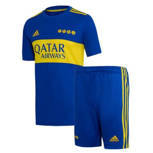 Boca Juniors Home Kids Soccer Kit 2122