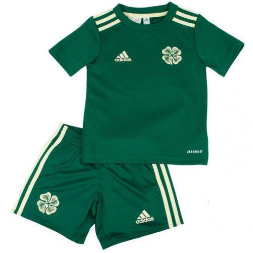 Celtic Away Kids Football Kit 21 22