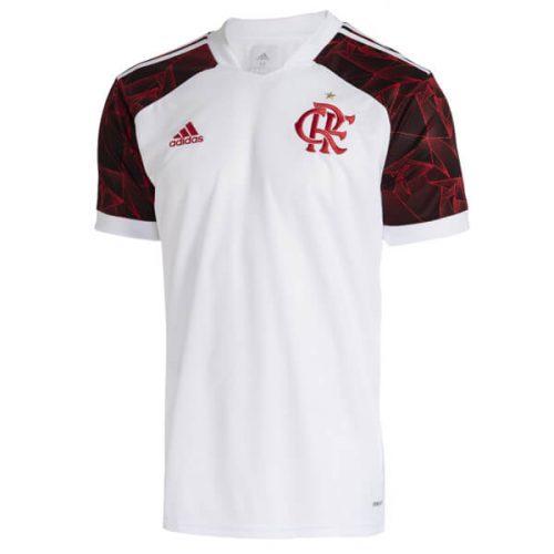 Flamengo Away Soccer Jersey 21 22