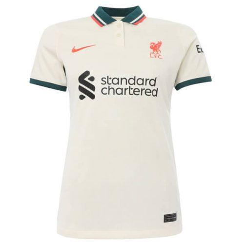 Liverpool Away Womens Football Shirt 21 22