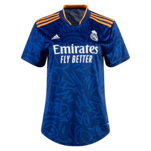 Real Madrid Away Womens Football Shirt 21 22