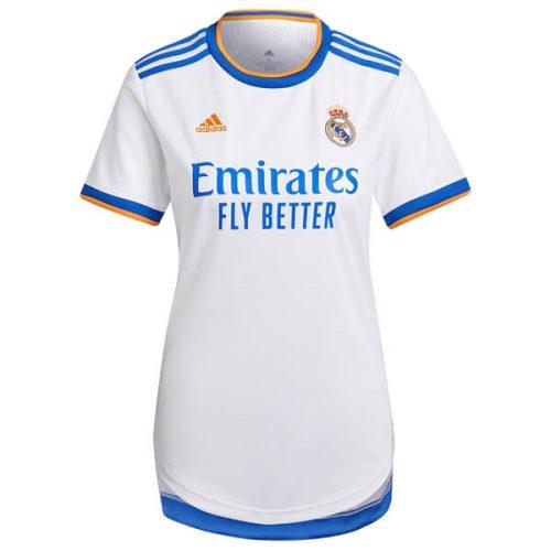 Real Madrid Home Womens Football Shirt 21 22