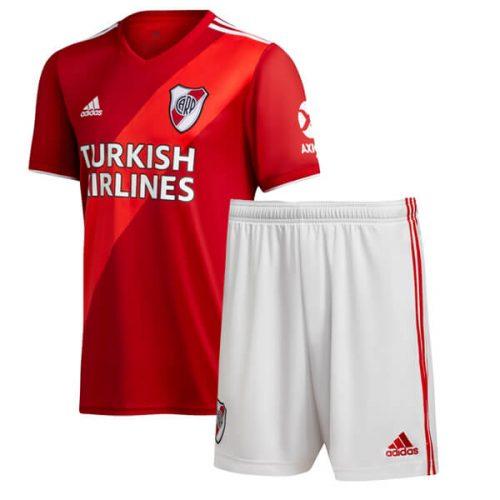 River Plate Away Kids Football Kit 2021