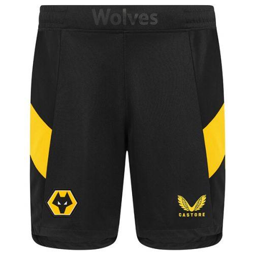 Wolverhampton Wanderers Home Football Shorts 21 22