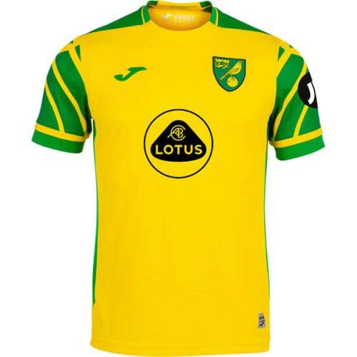 Norwich City Home Football Shirt 2122