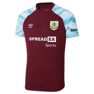 Burnley Home Football Shirt 21 22