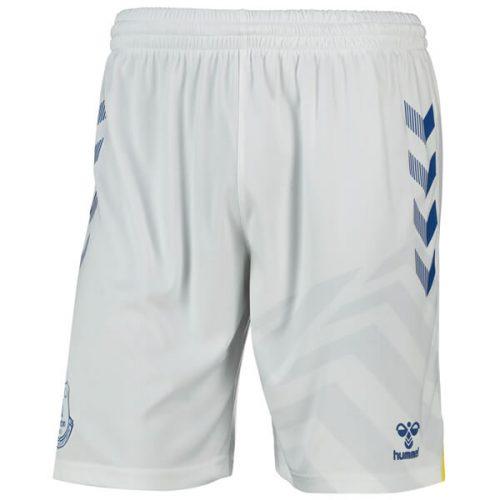 Everton Home Football Shorts 2122 - White
