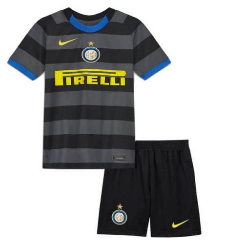Inter Milan Third Kids Football Kit 20 21