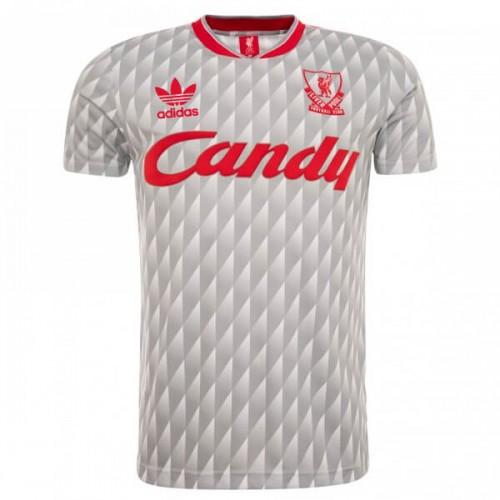 Retro Liverpool Away 89 91 Football Shirt