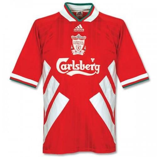 Retro Liverpool Home Football Shirt 93 95