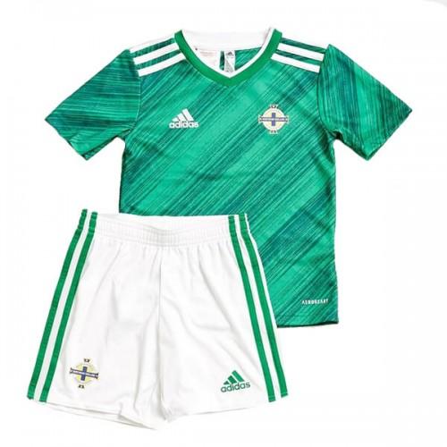Northern Ireland Home 2020 Kids Football Kit