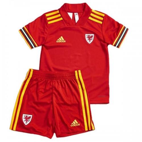 Wales Home 2020 Kids Football Kit