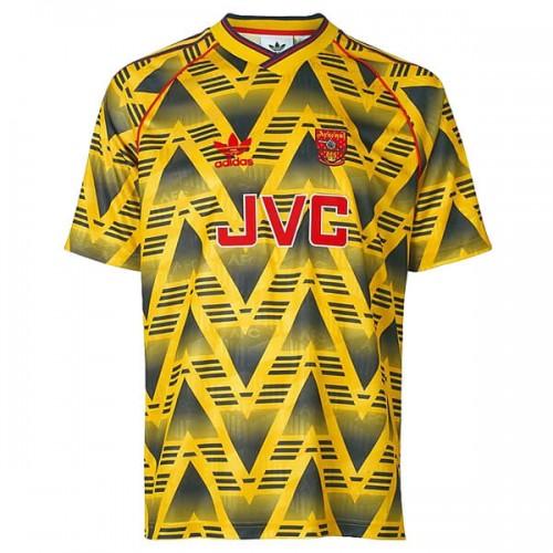 Retro Arsenal Away Football Shirt 91 93