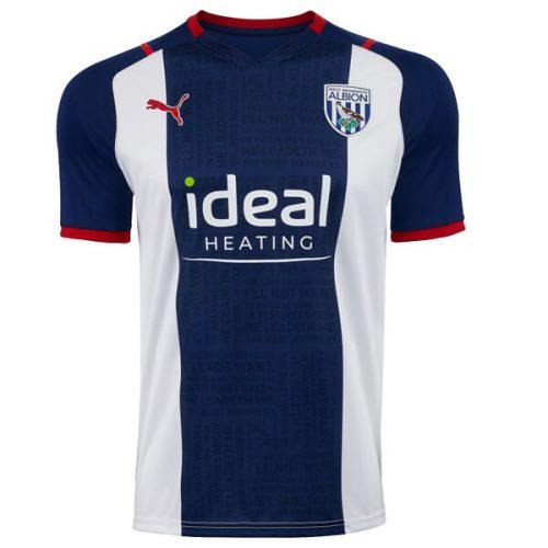 West Bromich Albion Home Football Shirt 21 22