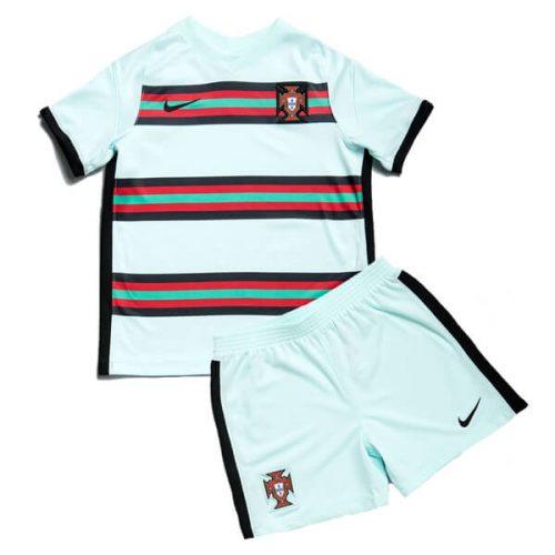 Portugal Away Kids Football Kit 20 21