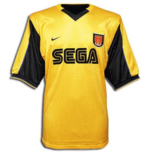 Retro Arsenal Away Football Shirt 99 01