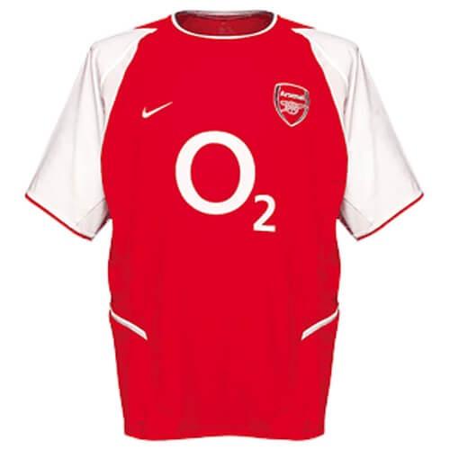 Retro Arsenal Home Football Shirt 02 03