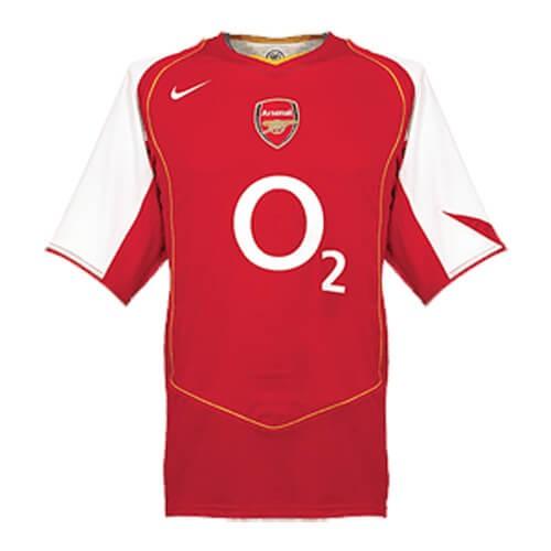 Retro Arsenal Home Football Shirt 04 05