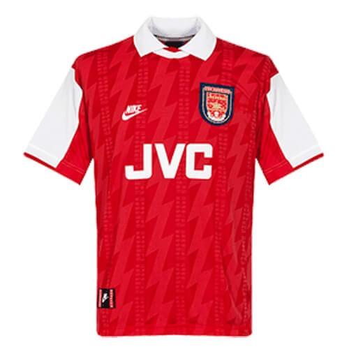 Retro Arsenal Home Football Shirt 94 96