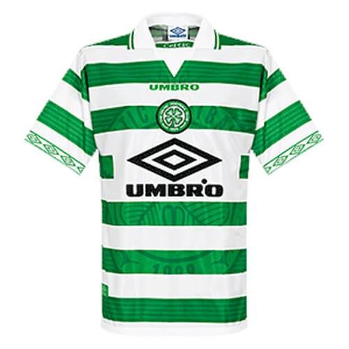 Retro Celtic Home Football Shirt 97 99