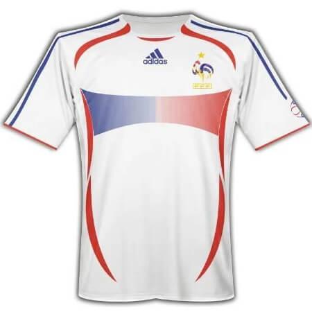 Retro France Away 2006 Football Shirt