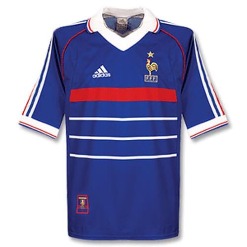 Retro France Home 1998 Football Shirt