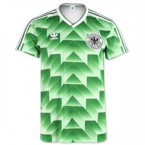 Retro Germany Away 1990 Football Shirt