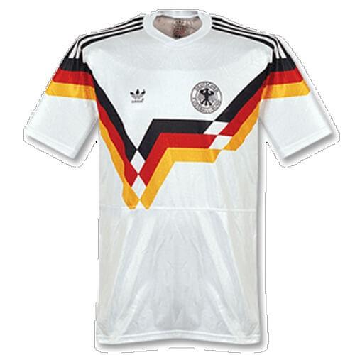 Retro Germany Home 1990 Football Shirt