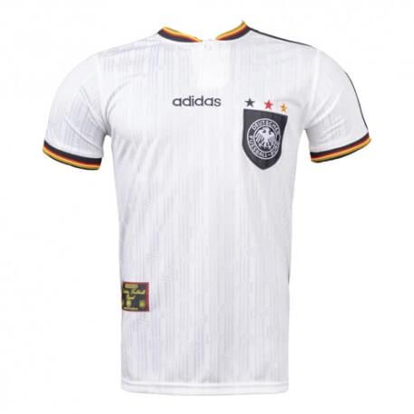 Retro Germany Home 1996 Football Shirt