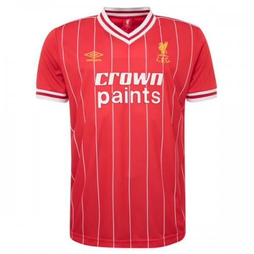 Retro Liverpool Home Football Shirt 81 84