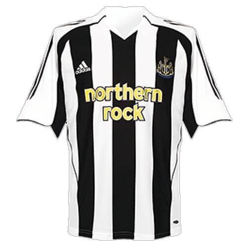 Retro Newcastle United Home Football Shirt 05 06