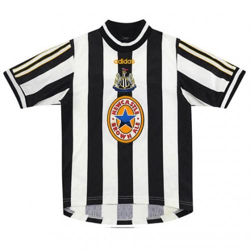 Retro Newcastle United Home Football Shirt 97 99