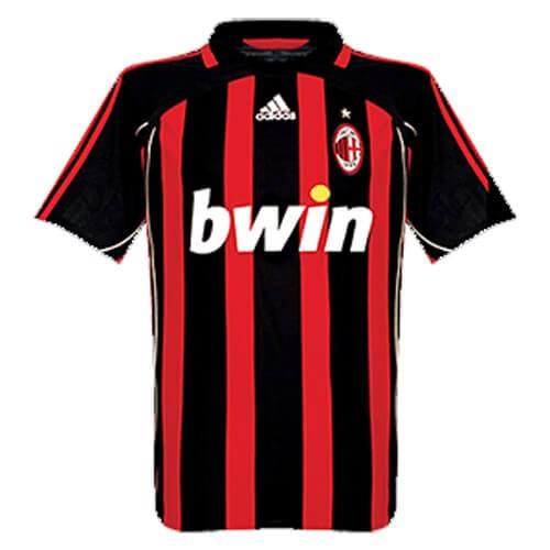 Retro AC Milan Home Football Shirt 06 07