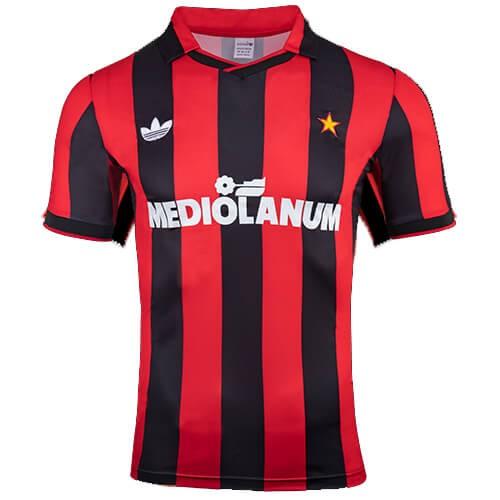 Retro AC Milan Home Football Shirt 91 92