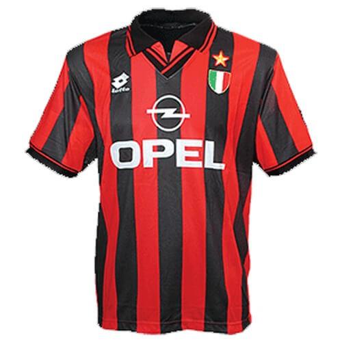 Retro AC Milan Home Football Shirt 96 97