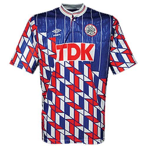 Retro Ajax Away Football Shirt 88 91