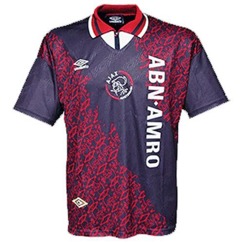 Retro Ajax Away Football Shirt 94 95